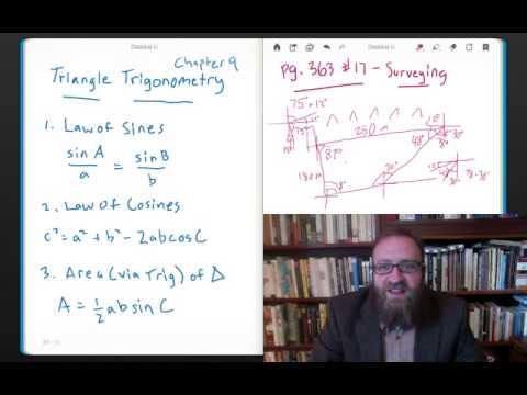 Triangle Trigonometry: Surveying