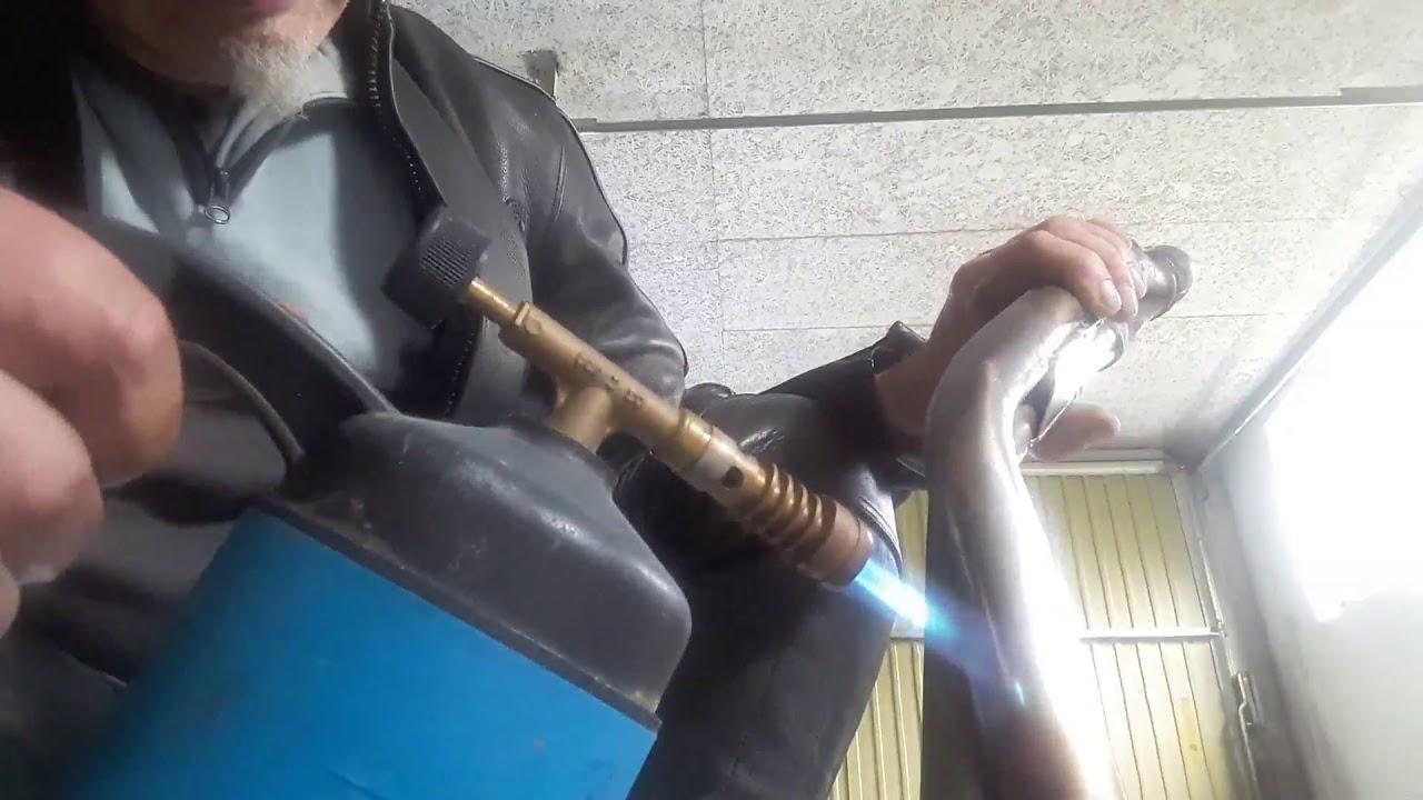 Top Edelstahl Krümmer Bläuen einfärben Anti-blau bunsenbrenner - YouTube CU44