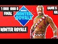 Fortnite Winter Royale GRAND FINAL Game 5 NA Highlights [Fortnite Tournament 2018]