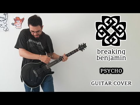 Breaking Benjamin - Psycho (Guitar Cover, with Solo)