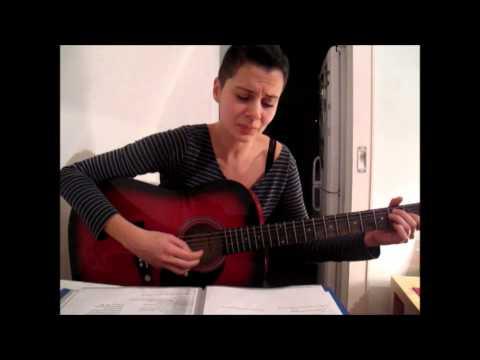 Momus / Amanda Palmer -  I want you but I don't need you (guitar cover)