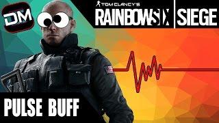 PULSE WALL HACKS   Rainbow Six Siege Pulse Gameplay & Buff