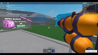 lucky bloquea el campo de batalla (ROBLOX)