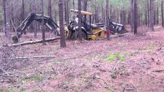 Gambar cover Stuck the John Deere Backhoe Trying to get to the Kubota!! Needed the Caterpillar Dozer!