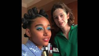 King Princess & Amandla Stenberg Are The Young Gay Power Couple We've All Been Waiting For
