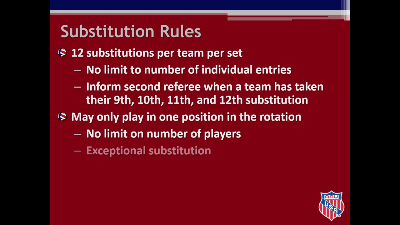 2018 19 Aau Volleyball Scoring Clinic Youtube