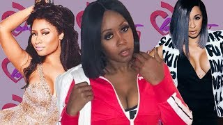 "The Barbs & Bardi Gang Go Crazy After Remy Ma Says It Was ""Corny"" How Nicki & Cardi Ended Their Beef"