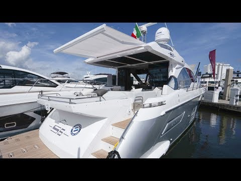 Debut of the Azimut S6 Yacht: A Pure Coupe with Sporty DNA