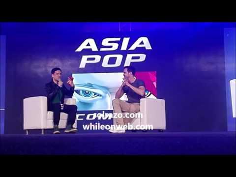 Nicholas Hoult panel session at Asia Pop Comicon Manila