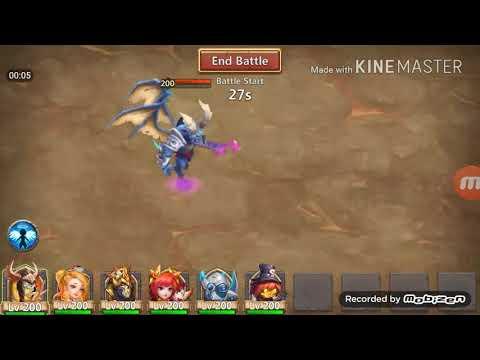 Castle Clash | Archdemon | Deflect Damage INC ATK | F2P Heroes