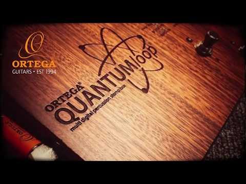 QUANTUMloop Guitar Looper - Looping Pedal w/ Built-in Percussion Stomp-Box Quick Tutorial