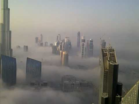 Dubai Burj Khalifa Above The Clouds Youtube