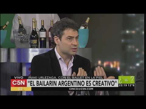 C5N - Quien dijo que es Tarde: entrevista a Iñaki Urlezaga