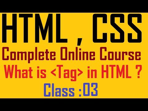 3 Define Tag | Html And Css Tutorial For Beginners To Advance | Mr. Bhosale