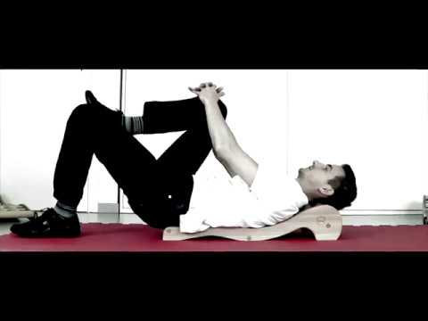 Spinal Backrack - 1 Basic Exercise -  Starting position & Single Leg Raise