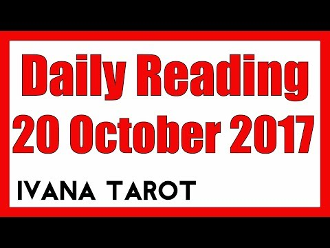 💖 Daily Reading for 20 October 2017 - Ivana Tarot