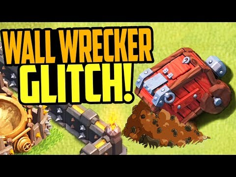 GLITCHED Wall Wreckers in Clash of Clans - WATCH OUT!