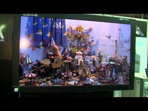 IBC 2013 - NHK 8K Super Hi-Vision - Kenichi Murayama