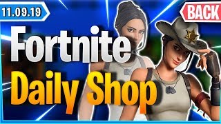 🤠 RARE ITEMS & COWBOY SKINS IN SHOP 🛒 - Fortnite Daily Shop (11 September 2019)