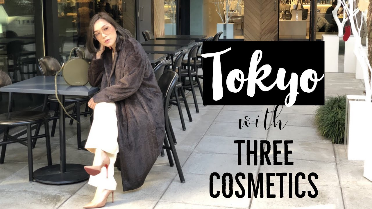 VLOG - DAILYCHERIE : Tokyo with THREE COSMETICS