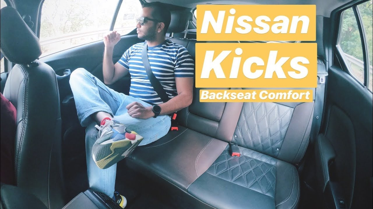 Nissan Kicks Back Seat Comfort Review Hindi English Youtube