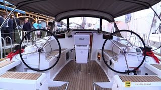 2015 Jeanneau Sun Odyssey 419 Sailing Yacht - Deck, Interior Walkaround - 2015 Annapolis Boat Show
