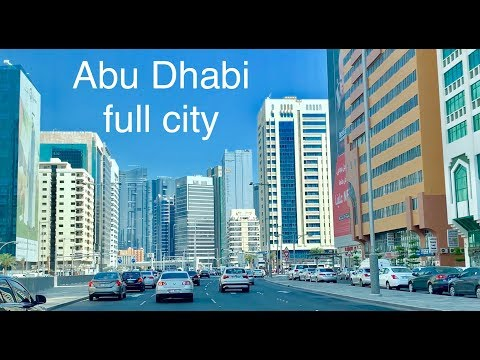 Abu Dhabi Main city | Ultra video | United Arab Emirates cit