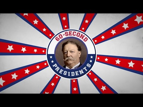 William Howard Taft | 60-Second Presidents | PBS