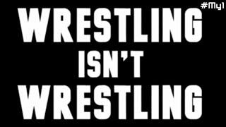 [#My1] Wrestling Isn't Wrestling [русские субтитры]