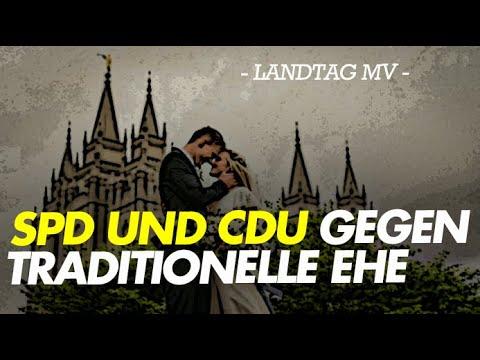 SPD und CDU gegen traditionelle Ehe
