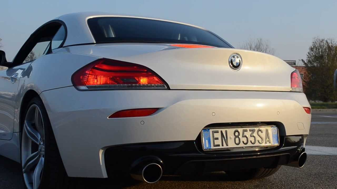 Bmw Z4 E89 28i Direct Exhaust Rev Sound Acceleration