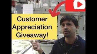 Customer Appreciation GIVEAWAY - Vieira Coins GAW