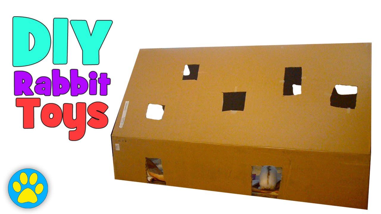 3 Easy DIY Rabbit Toys - YouTube