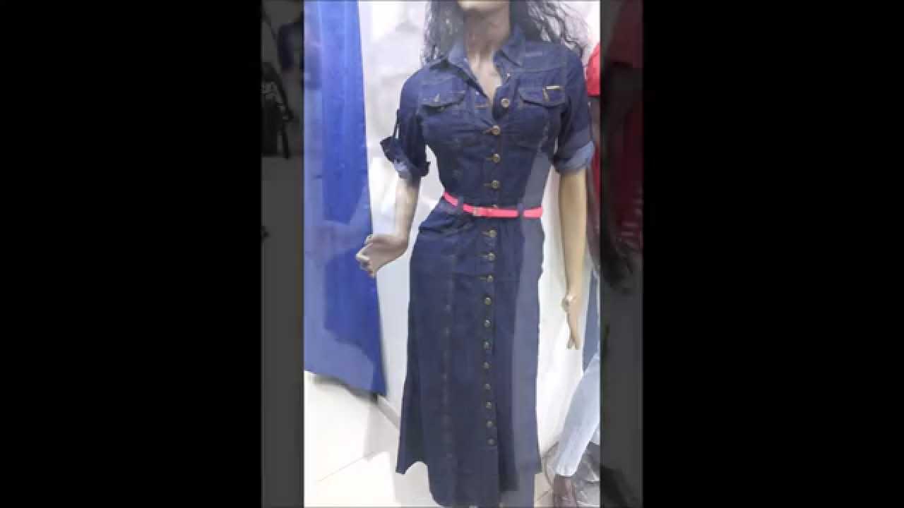 Vestidos de jean para cristianas