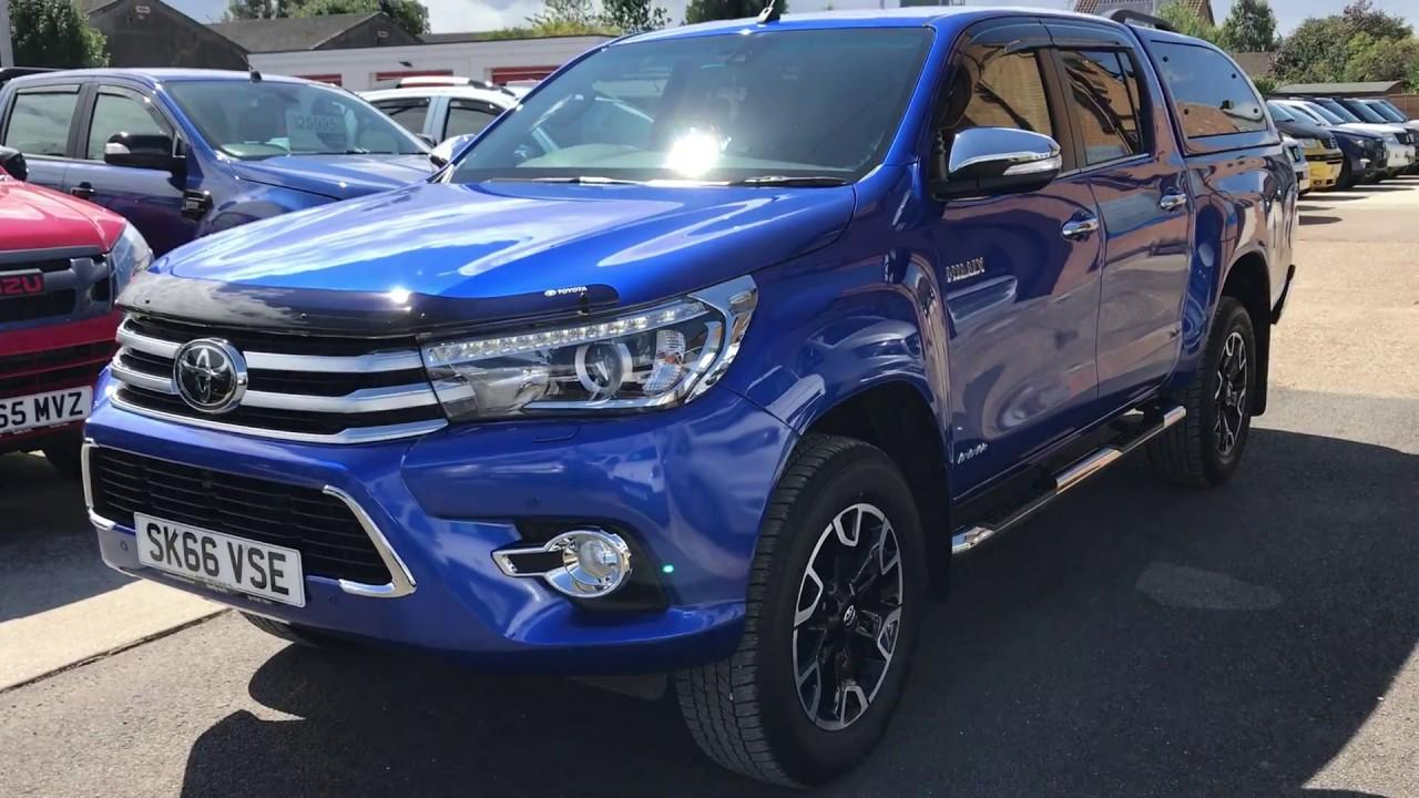 Toyota hilux invincible X Auto + Canopy & Toyota hilux invincible X Auto + Canopy - YouTube