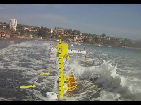 Wilefko : interacción del Flap con la ola; energía undimotriz  wave energy