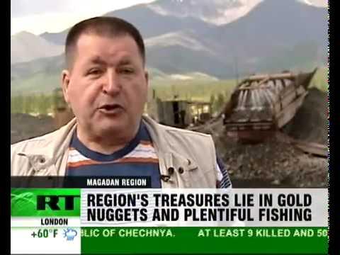 Magadan - Russia's gold mining region