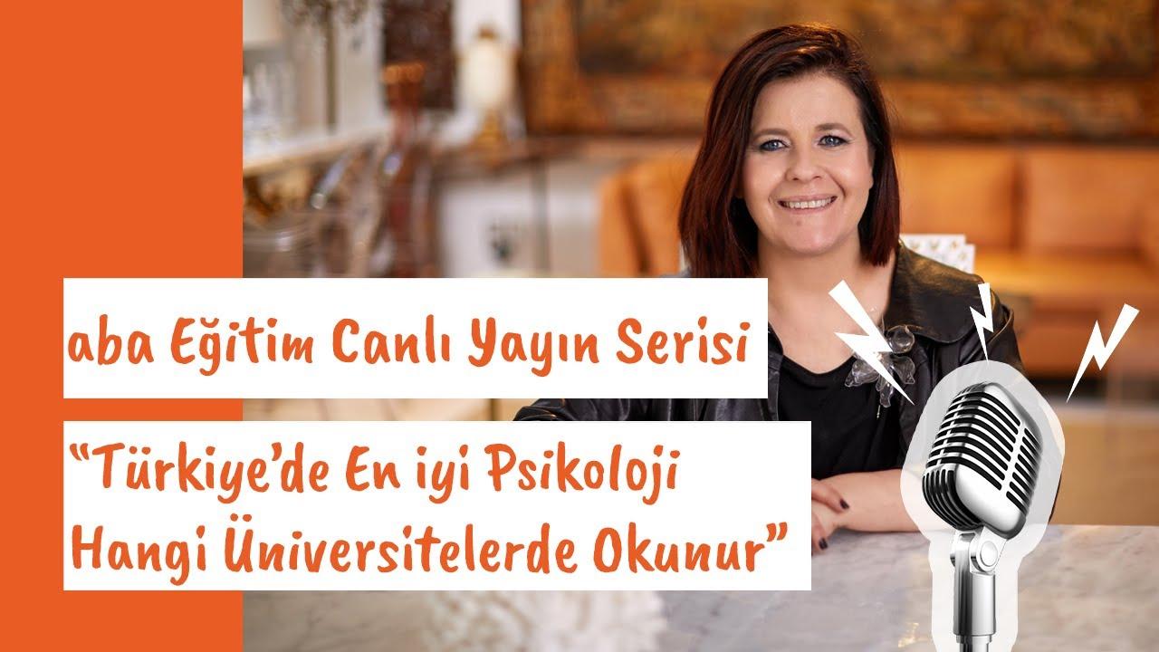 Turkiye De En Iyi Psikoloji Hangi Universitelerde Okunur Youtube