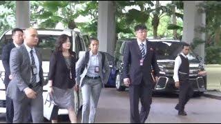U.S., DPRK Delegations Meet for Trump-Kim Summit