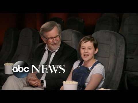 BFG Star Ruby Barnhill Plans to Become a Director Like Steven Spielberg | Lorraine clip