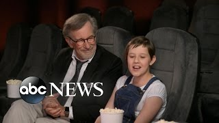 'The BFG': Steven Spielberg on Finding Ruby Barnhill