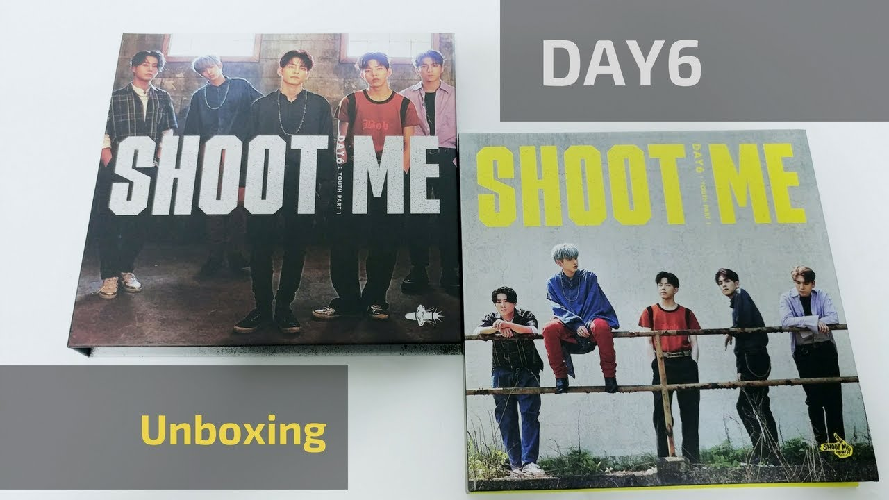Day6 - Shoot me vol 1 unboxing (couple of bros chilling 6 ft