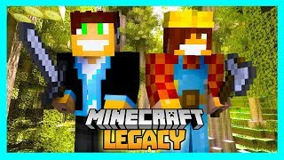 Minecraft Legacy #08 - MAGICZNY LAS!!!