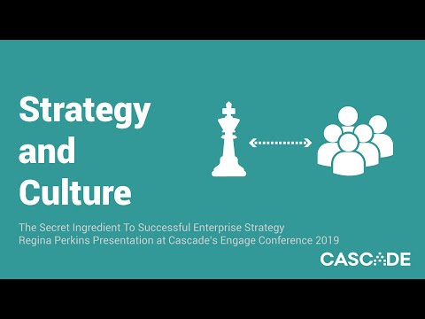 Strategy And Culture - The Secret Ingredient For Successful Enterprise Strategy