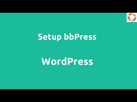 Install and Setup bbPress in WordPress