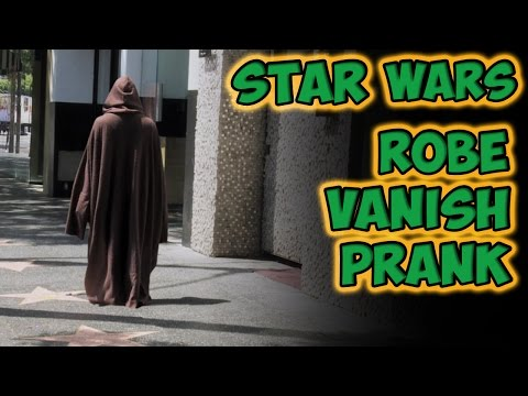 Star Wars Robe Vanish Prank
