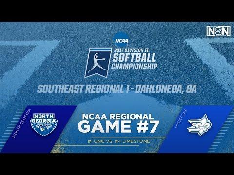 NCAA Southeast Regional Gm. 7-North Georgia vs. Limestone | May 12