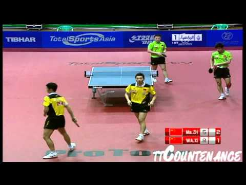 UAE Open: Ma Lin Zhang Jike-Wang Liqin Xu Xin