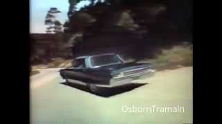 1968 Chrysler New Yorker Commercial with William Conrad Voiceover