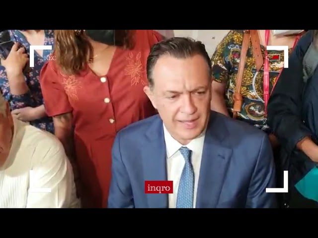 Rueda de prensa ofrecida por el Gobernador Electo Mauricio Kuri